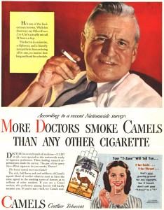 myths about root canals are like old doctor camel ad