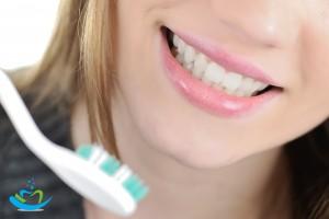 brush teeth, better dental health